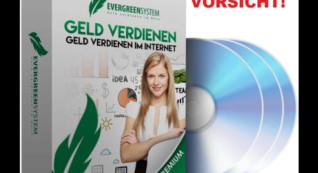 ??? VORSICHT beim Evergreen System 3.0 von Said Shiripour!!! ???