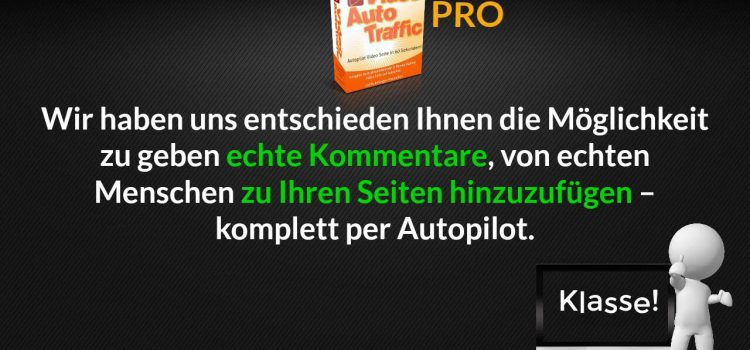 Video Auto Traffic & VideoAutoTraffic PRO – Video Webseite auf Knopfdruck