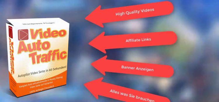 VideoAutoTraffic einfach u. schnell zur eigenen Video-Webseite